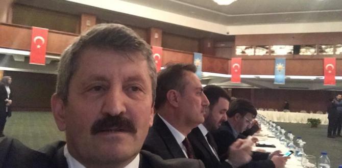 AK PARTİ KIZILCAHAMAM'DA KAMPA GİRDİ