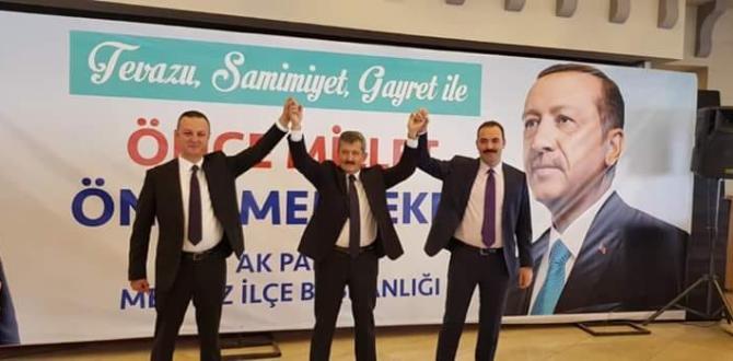 AK PARTİ PROJELERLE ALAN'A ÇIKIYOR