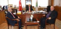 ŞENOL ŞANAL'DAN AKDEMİR'E ZİYARET