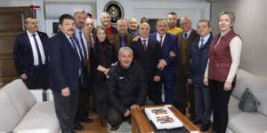 CHP ADAYI ŞANAL'DAN KIZILAY'A ZİYARET