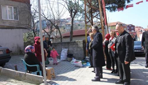 MHP ADAYI HAMDİ AYAN'DAN YEŞİL MAHALLE ESNAF ZİYARETİ