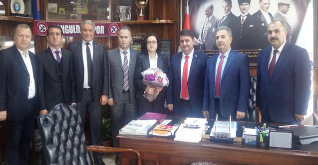 KAMUSEN'DEN GMİS'E TEBRİK ZİYARETİ