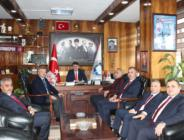 POLAT TÜRKMEN'DEN YEŞİL'E TEBRİK ZİYARETİ