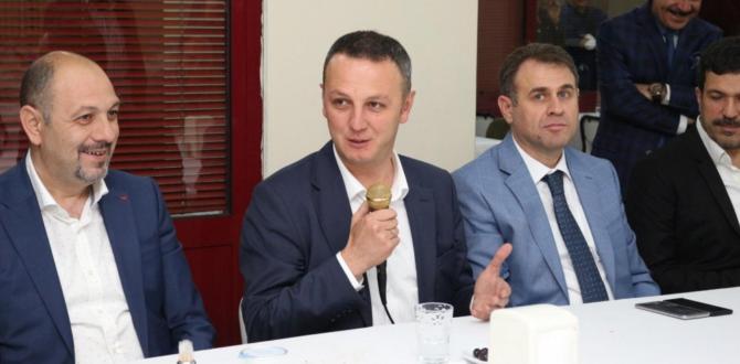 'BU YOLDA OMUZ OMUZA HEP BİRLİKTE YÜRÜYECEĞİZ'