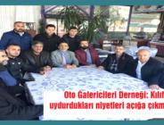 OTO GALERİCİLERİ ÖFKELİ!