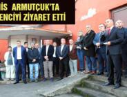 GMİS ARMUTÇUK'TA MADENCİYİ ZİYARET ETTİ