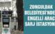 ZONGULDAK BELEDİYESİ'NDEN ENGELLİ ARAÇ ŞARJ İSTASYONU
