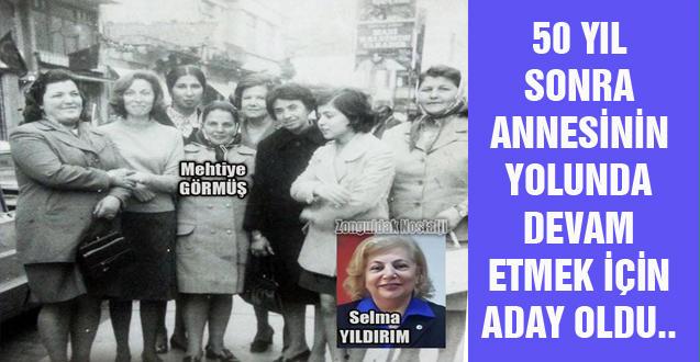 SELMA YILDIRIM CHP İLÇE KADIN KOLLARINA ADAY