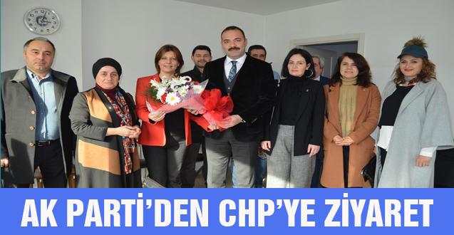 AK PARTİ'DEN CHP'YE ZİYARET