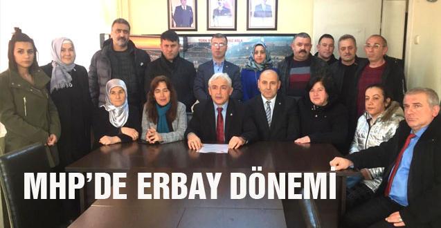 MHP'DE ERBAY DÖNEMİ