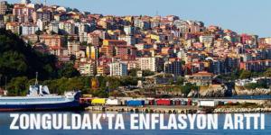 ZONGULDAK'TA ENFLASYON ARTTI