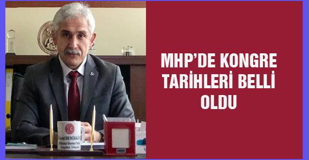 MHP'DE KONGRE TARİHLERİ BELLİ OLDU