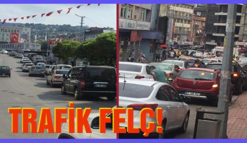 TRAFİK FELÇ!