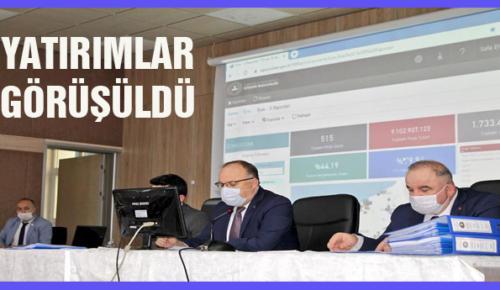 İL KOORDİNASYON KURULU TOPLANDI