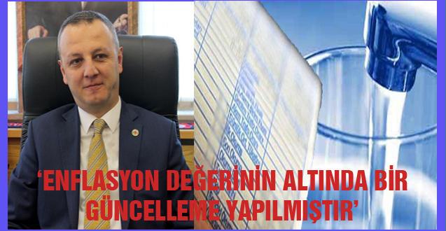 'ENFLASYON DEĞERİNİN ALTINDA BİR GÜNCELLEME YAPILMIŞTIR'