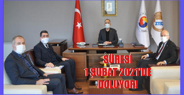 SÜRESİ 1 ŞUBAT 2021'DE DOLUYOR!