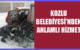 KOZLU BELEDİYESİ'NDEN ANLAMLI HİZMET