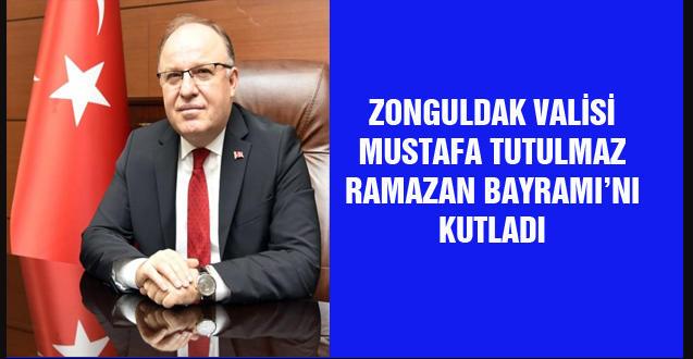 VALİ MUSTAFA TUTULMAZ RAMAZAN BAYRAMI'NI KUTLADI