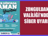 ZONGULDAK VALİLİĞİ'NDEN SİBER UYARI!