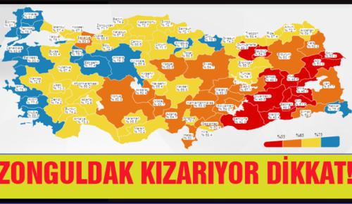 ZONGULDAK KIZARIYOR DİKKAT!