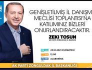 AK PARTİ DANIŞMA MECLİSİNİ TOPLUYOR