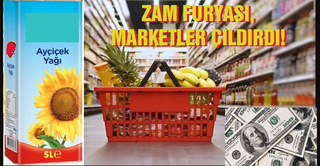ZAM FURYASI, MARKETLER ÇILDIRDI!