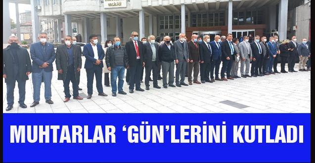 MUHTARLAR 'GÜN'LERİNİ KUTLADI
